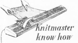Knitmaster Know How