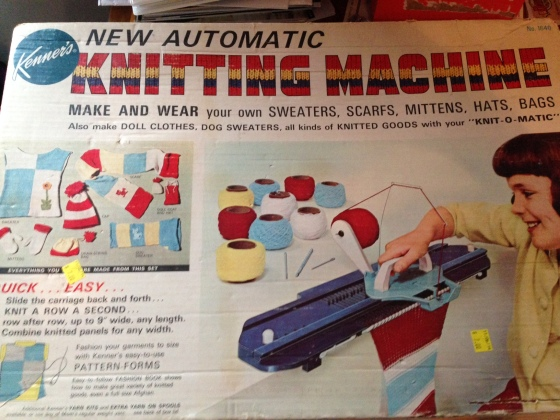 Kenner Knitting Machine